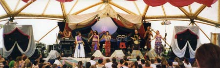 Glow and the Dept. of Luminosity, WOMAD 1998